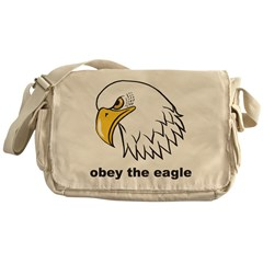 Obey The Eagle Messenger Bag