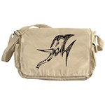 Tribal Elephant Messenger Bag