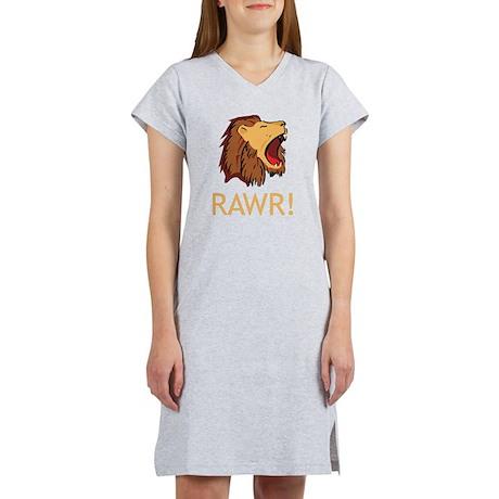 Lion Rawr Women's Nightshirt