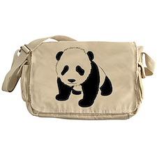 Cute Baby Panda Messenger Bag