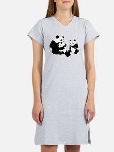 Panda Family Women's Nightshirt