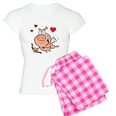 Cupid Pig Pajamas