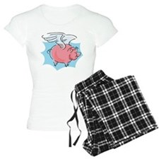 Cute Flying Pig Pajamas