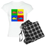 Pop Art Rabbit Women's Light Pajamas