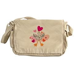 Love Chicken Messenger Bag