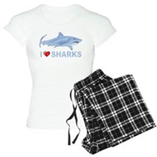 I Love Sharks Pajamas
