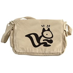 Squirrel Messenger Bag