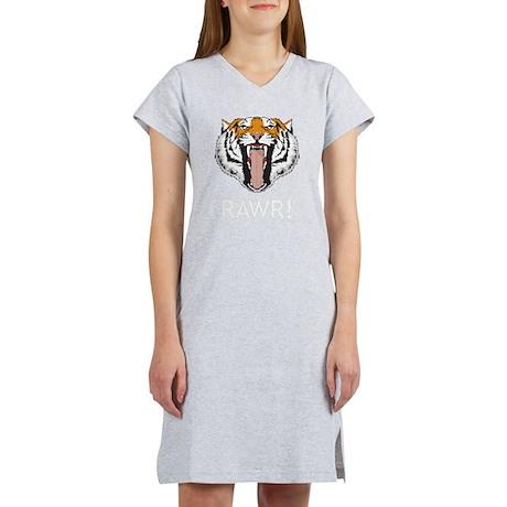 Tiger Rawr Women's Nightshirt
