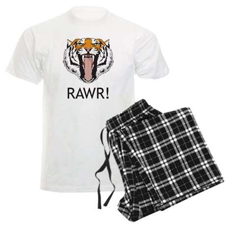 Tiger Rawr Men's Light Pajamas