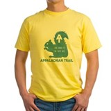Appalachian trail Mens Classic Yellow T-Shirts
