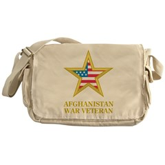 Afghanistan War Veteran Messenger Bag