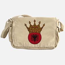 King Of Albania Messenger Bag