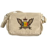 Andorra Emblem Messenger Bag