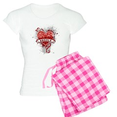 Heart Angola Pajamas