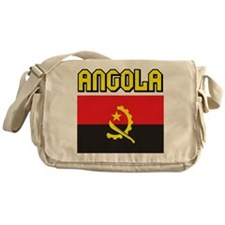 Angola Flag Messenger Bag