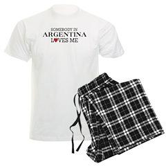 Somebody In Argentina Pajamas