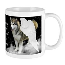 Malamute Angel Mug