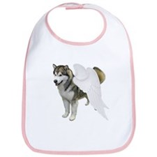 Malamute Angel Bib