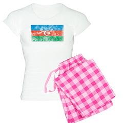 Vintage Azerbaijan Flag Pajamas