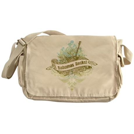 Bahamas Rocks Messenger Bag