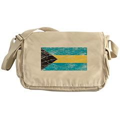 Vintage Bahamas Flag Messenger Bag