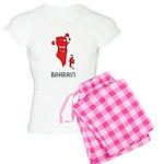 Map Of Bahrain Women's Light Pajamas