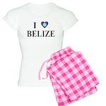 I Love Belize Women's Light Pajamas