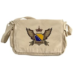 Bosnia Emblem Messenger Bag