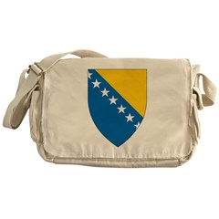 Bosnia Coat Of Arms Messenger Bag