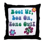 Zone Out! Throw Pillow
