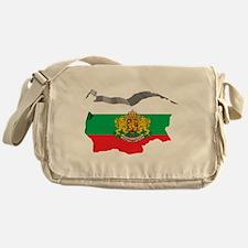 3D Map Of Bulgaria Messenger Bag