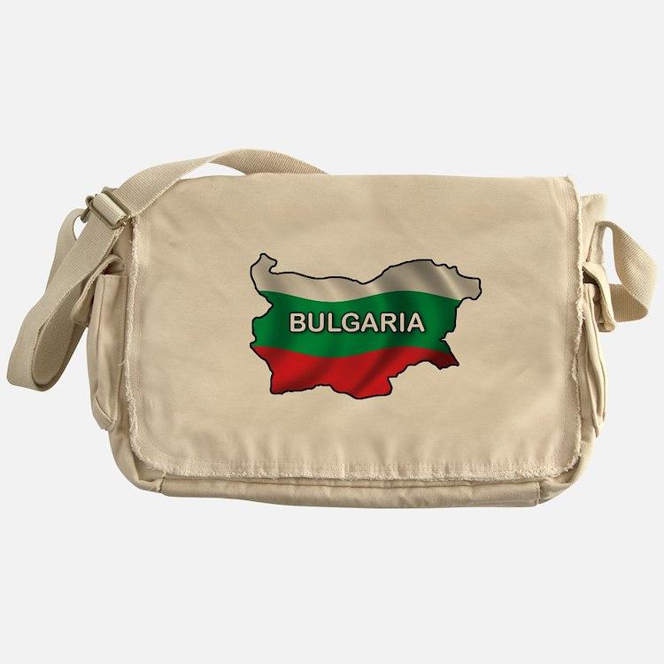 Map Of Bulgaria Messenger Bag