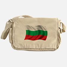 Wavy Bulgaria Flag Messenger Bag