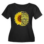 Organic Garden Blogger Men's Fitted T-Shirt (dark)