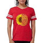 Organic Garden Blogger Fitted T-Shirt