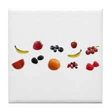 EAT FRUIT > coaster (padded/tile)