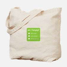HUNGER CHECK > tote bag