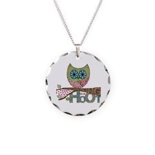 Scrapbooking is a Hoot - Necklace Cicle Charm