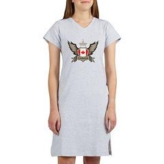 Canada Emblem Women's Nightshirt
