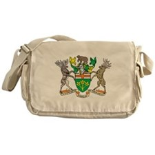 Ontario Coat Of Arms Messenger Bag