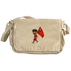 3D China Messenger Bag