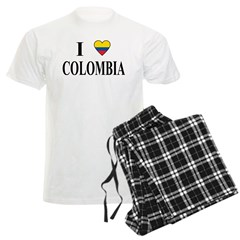 I Love Colombia Pajamas