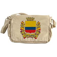 Stylish Colombia Crest Messenger Bag