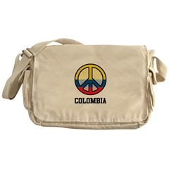 Peace In Colombia Messenger Bag