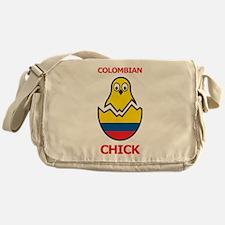 Colombian Chick Messenger Bag