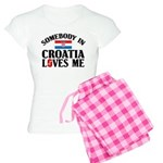 Somebody In Croatia Women's Light Pajamas