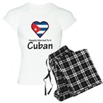 Happily Married To A Cuban Women's Light Pajamas