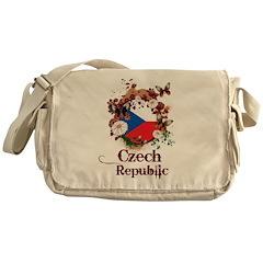 Butterfly Czech Republic Messenger Bag
