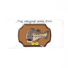 Dork Fish Aluminum License Plate