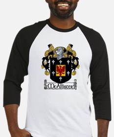 McAllister Coat of Arms Baseball Jersey